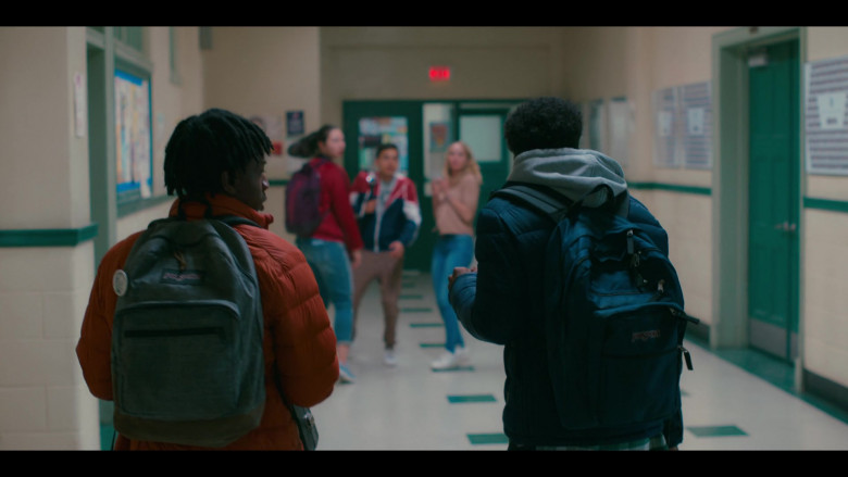 JanSport Backpacks in Grand Army S01E01 Brooklyn, 2020 (2020)