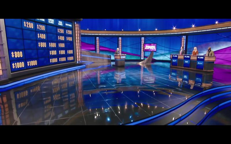 Jeopardy! TV Show in Free Guy (2020)