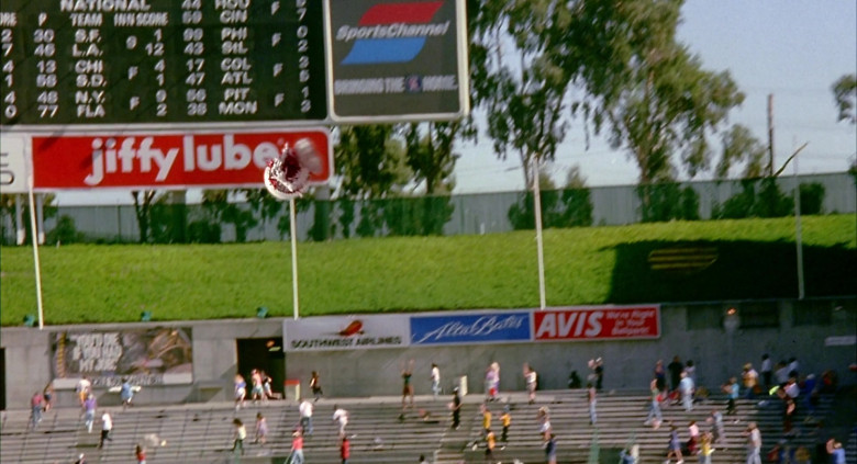 Jiffy Lube in Angels in the Outfield (1994)