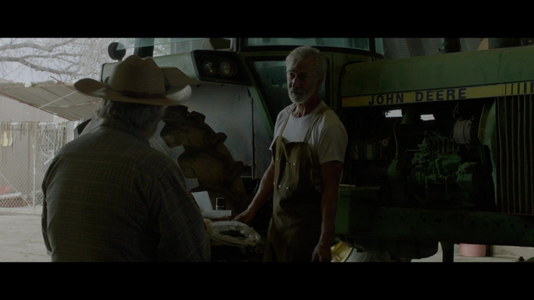 John Deere Tractor of David Strathairn as Fred Stern in The Devil Has a Name (2019)