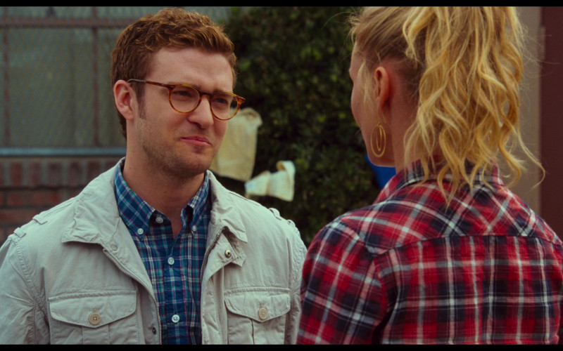 Justin Timberlake as Scott Delacorte Wears Oliver Peoples Riley Glasses in Bad Teacher Movie (1)