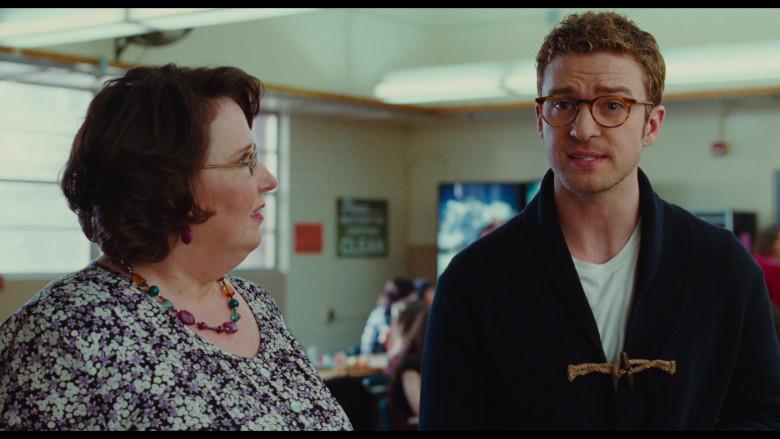 Justin Timberlake as Scott Delacorte Wears Oliver Peoples Riley Glasses in Bad Teacher Movie (2)