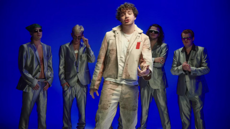 KOBF (Kids Of Broken Future) Leather Jacket and Pants Outfit of Jack Harlow (1)