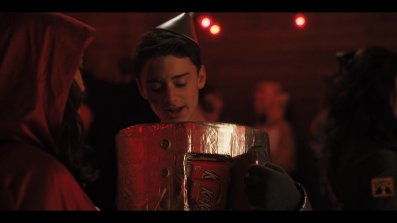 Kit Kat Chocolate Bars of Noah Schnapp as Tommy Valentine in Hubie Halloween (2020)