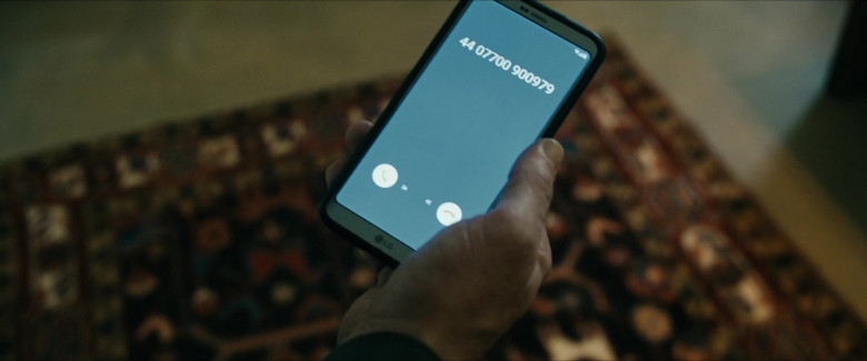 LG Smartphone of Karl Urban as William 'Billy' Butcher in The Boys S02E07