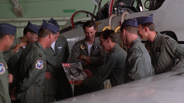 LIFE Magazine (Chimpanzee in the space capsule) in The Right Stuff 1983 Movie (1)