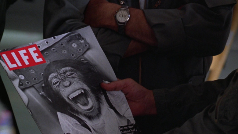 LIFE Magazine (Chimpanzee in the space capsule) in The Right Stuff 1983 Movie (2)