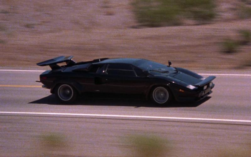 Lamborghini Countach LP 400 S Black Sports Car in The Cannonball Run (4)