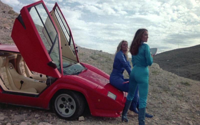 Lamborghini Countach LP 500 S Red Sports Car in Cannonball Run II (4)