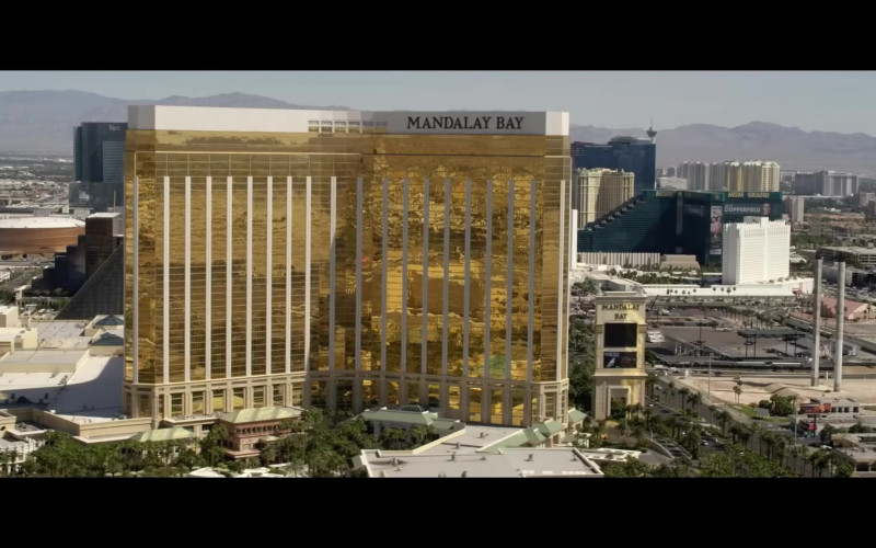 Mandalay Bay Resort and Casino in Embattled (2020) Movie