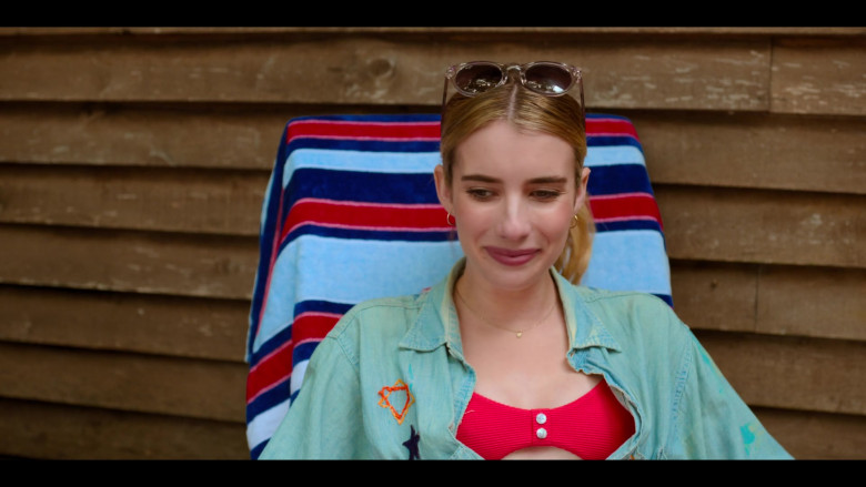 Maui Jim Sunglasses worn by Emma Roberts as Sloane in Holidate Movie