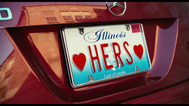 Mercedes-Benz SLK 350 [R171] Red Car of Cameron Diaz as Elizabeth Halsey in Bad Teacher Movie (2)