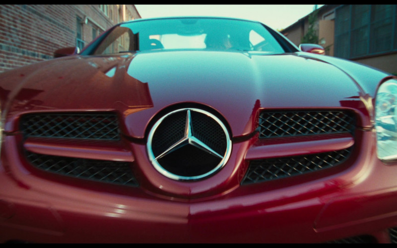 Mercedes-Benz SLK 350 [R171] Red Car of Cameron Diaz as Elizabeth Halsey in Bad Teacher Movie (3)