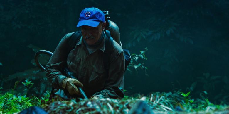 Michael Gross as Burt Gummer Wears '47 Blue Cap x Chicago Cubs Logo of in Tremors Shrieker Island Film (5)