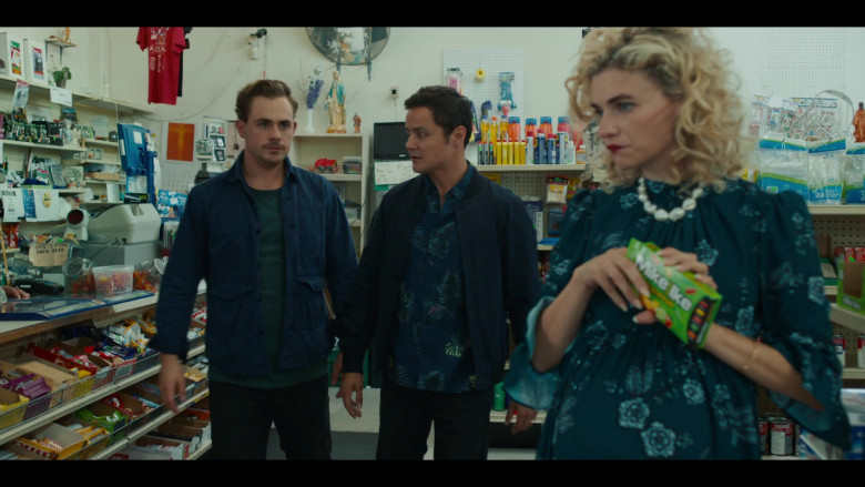 Mike & Ike Candies Enjoyed by Megan Ferguson as Randy in The Broken Hearts Gallery 2020 Film (1)