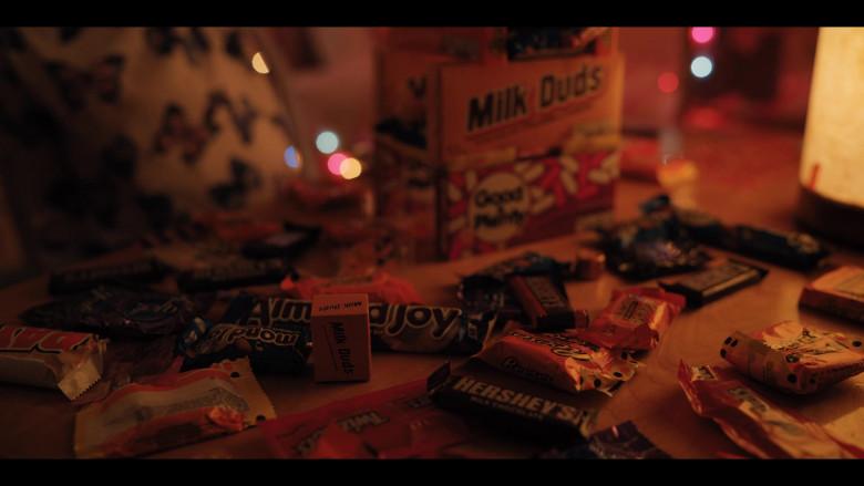 Milk Duds, Almond Joy, Reese's, Hershey's, Twizzlers in Hubie Halloween (2020)