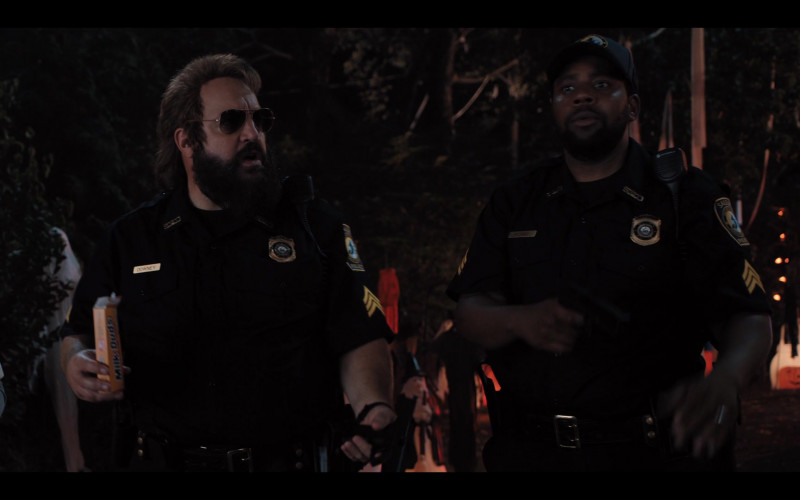 Milk Duds Caramel Balls Enjoyed by Kevin James as Officer Steve Downing in Hubie Halloween (2020)