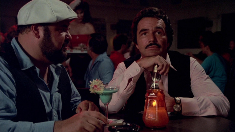 Miller Beer Enjoyed by Burt Reynolds as J.J. McClure in Cannonball Run II