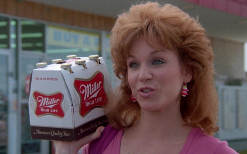 Miller High Life Beer Pack in Cannonball Run II (3)