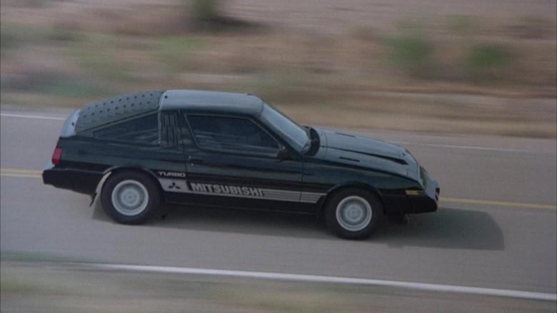 Mitsubishi Starion Car in Cannonball Run II (4)