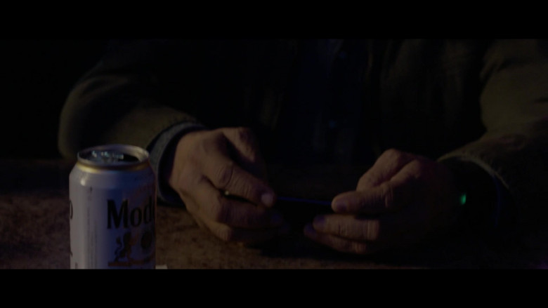 Modelo Beer Can in The Devil Has a Name (2019)