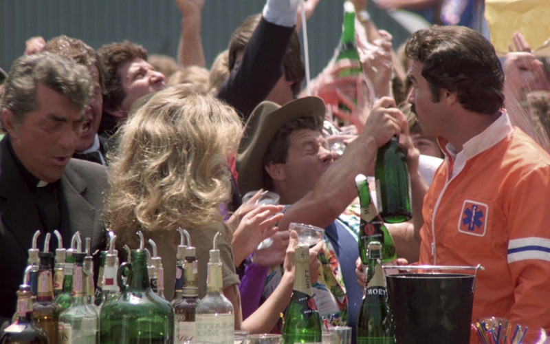 Moet Champagne Bottles in The Cannonball Run (1)