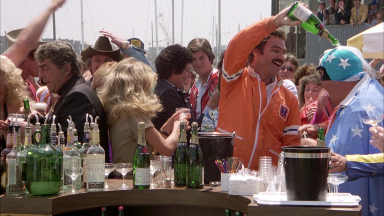 Moet Champagne Bottles in The Cannonball Run (2)
