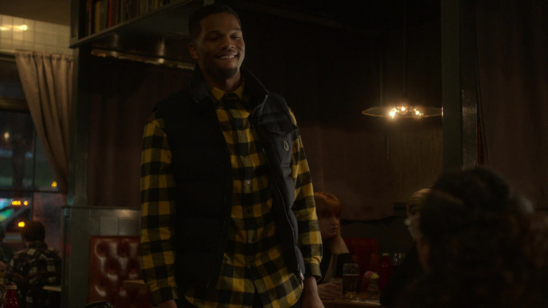 Moncler Men's Vest of Daniel Bellomy as Ezekiel 'Zeke' Cross in Power Book 2 Ghost S01E05 TV Show
