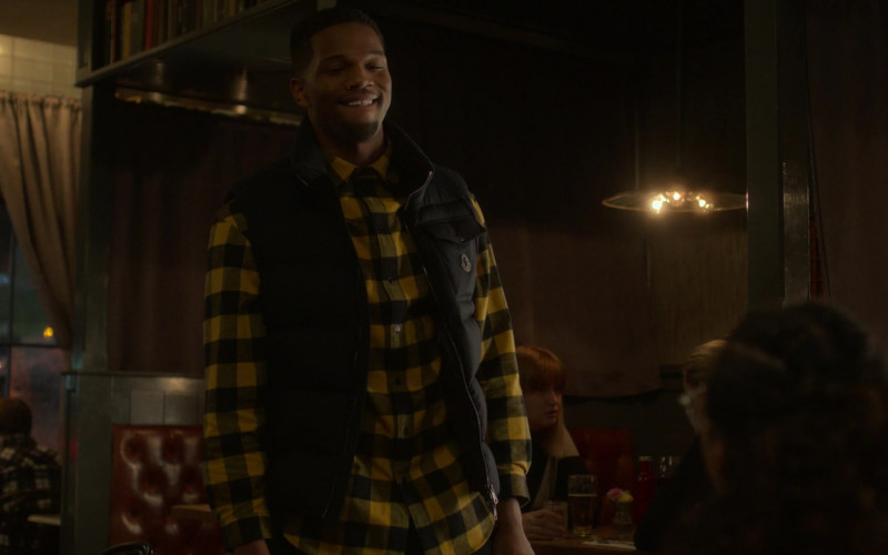 Moncler Men's Vest in Power Book 2 Ghost S01E05 TV Show