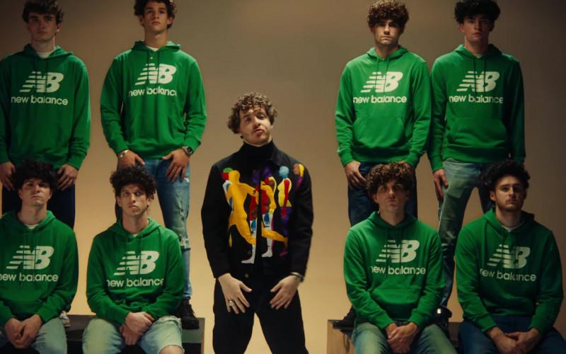 New Balance Men's NB Logo Green Hoodies in Tyler Herro (1)