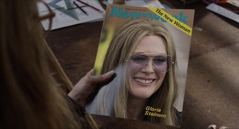 Newsweek Magazine in The Glorias (2020)