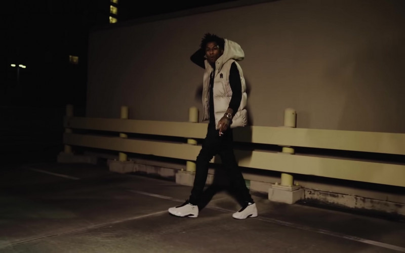 Nike Air Jordan Sneakers of NBA Youngboy in The Story of O.J. (Top Version) (2020) Music Video