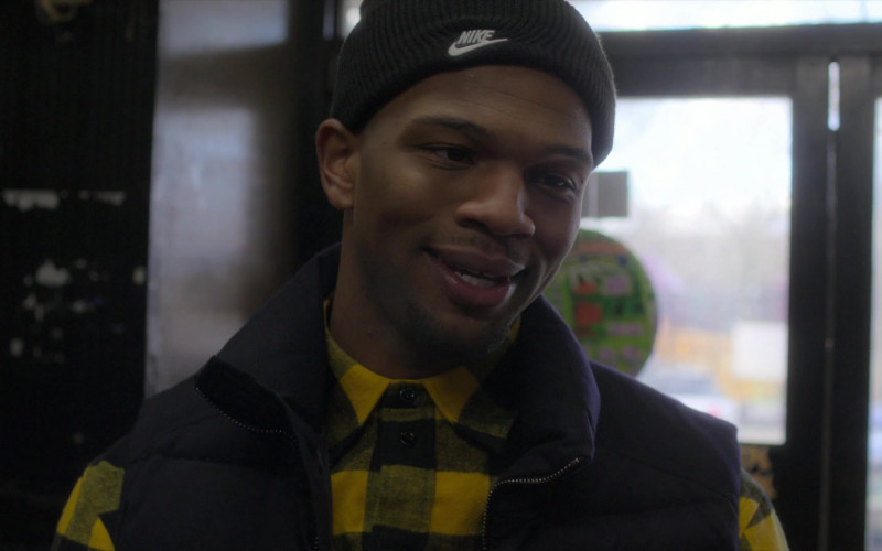 Nike Beanie Hat in Power Book 2 Ghost S01E05