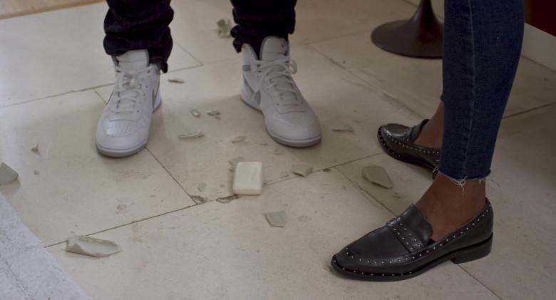 Nike Court Sneakers of Deon Cole as Dan in Friendsgiving Movie (1)