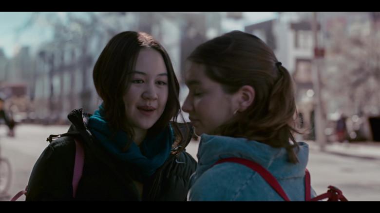 Nike Jacket of Amalia Yoo as Leila Kwan Zimmer in Grand Army S01E02 (1)