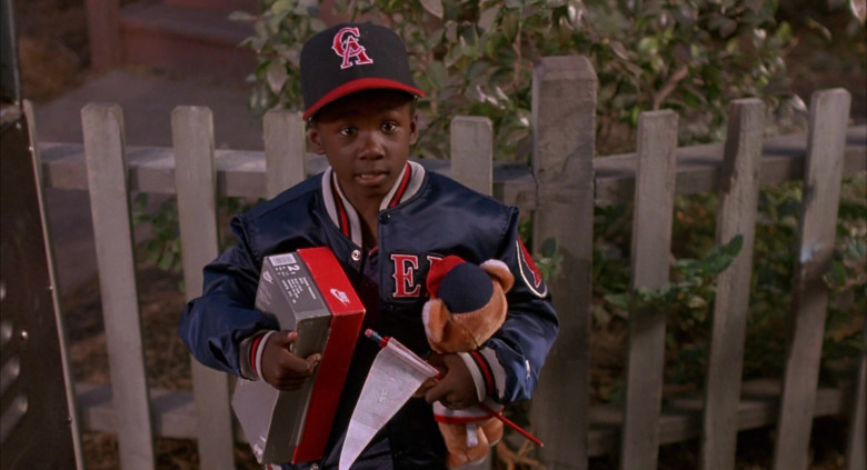 Nike Shoe Box Held by Milton Davis Jr. as J.P. in Angels in the Outfield Film (3)