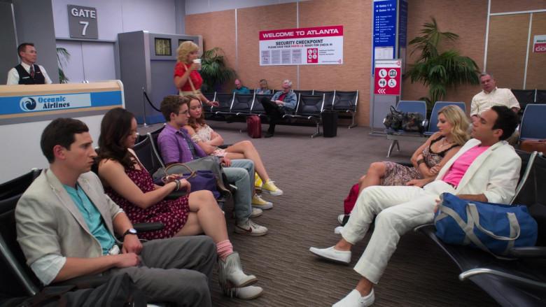 Nike Shoes of Sean Giambrone as Adam in The Goldbergs S08E01 Airplane! (2)