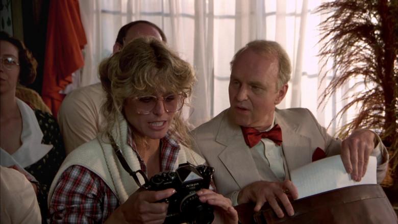 Nikon Camera of Farrah Fawcett as Beauty Pamela Glover in The Cannonball Run (3)