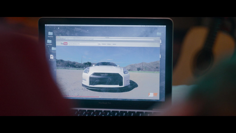 Nissan GT-R Sports Car in Clouds Movie (1)