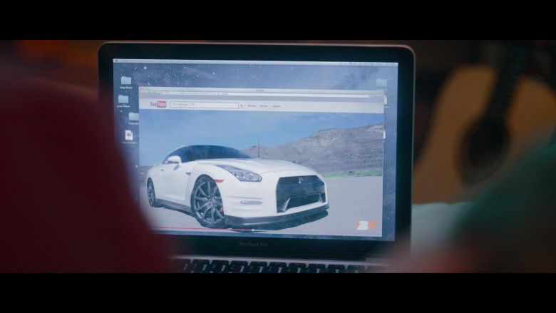 Nissan GT-R Sports Car in Clouds Movie (2)