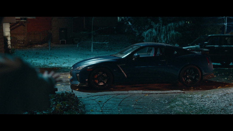Nissan GT-R Sports Car in Clouds Movie (3)