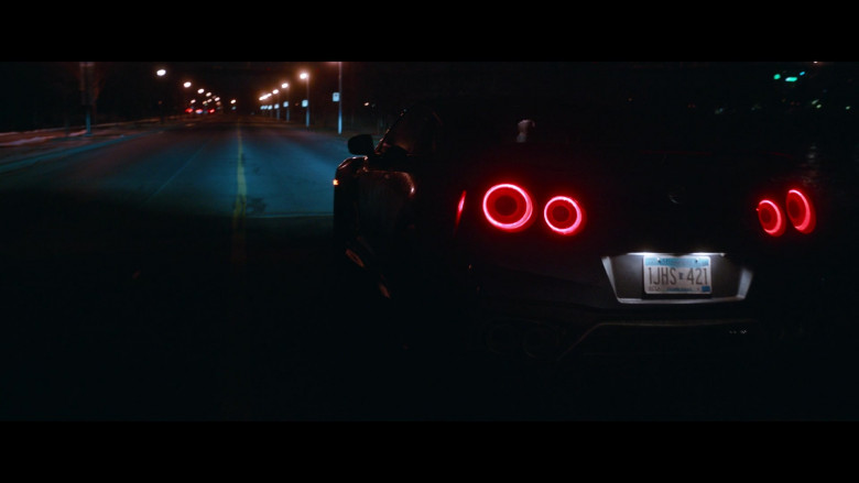 Nissan GT-R Sports Car in Clouds Movie (4)