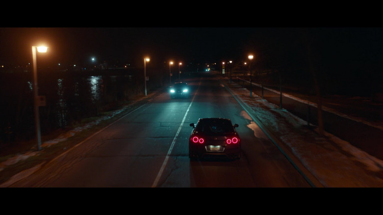 Nissan GT-R Sports Car in Clouds Movie (5)
