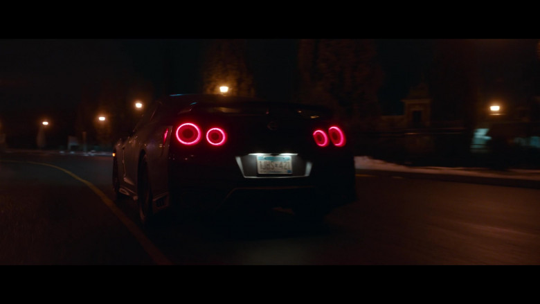 Nissan GT-R Sports Car in Clouds Movie (6)