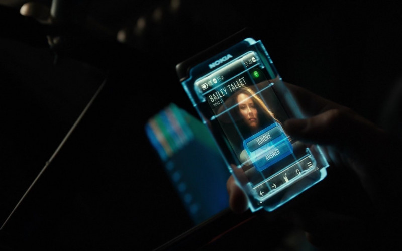 Nokia Future Concept Phone of Hugh Jackman as Charlie Kenton in Real Steel (2011)