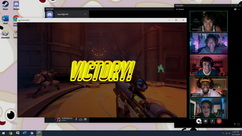 Overwatch Video Arcade Game in Social Distance S01E07 (3)