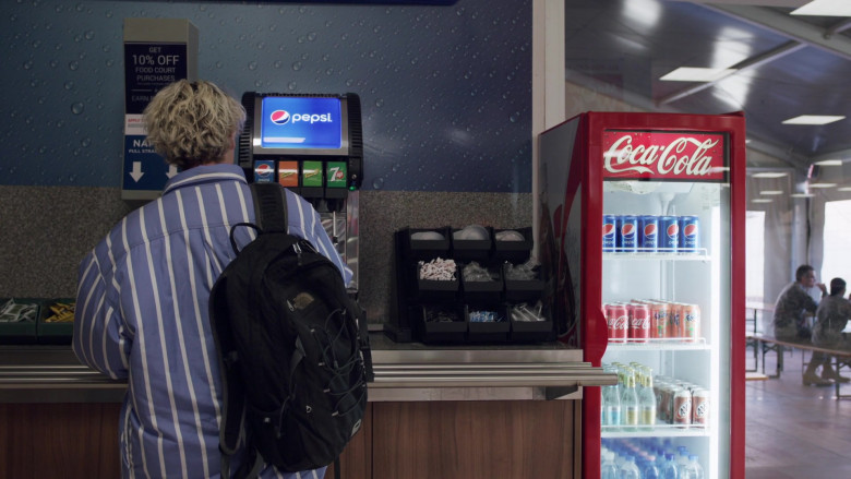 Pepsi, 7up, Coca-Cola, Fanta, A&W Root Beer in We Are Who We Are Episode 5 (2020)