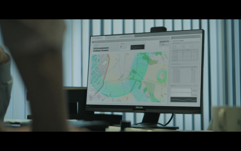 Philips Computer Monitor in Truth Seekers S01E08 The Shadow of the Moon (2020)