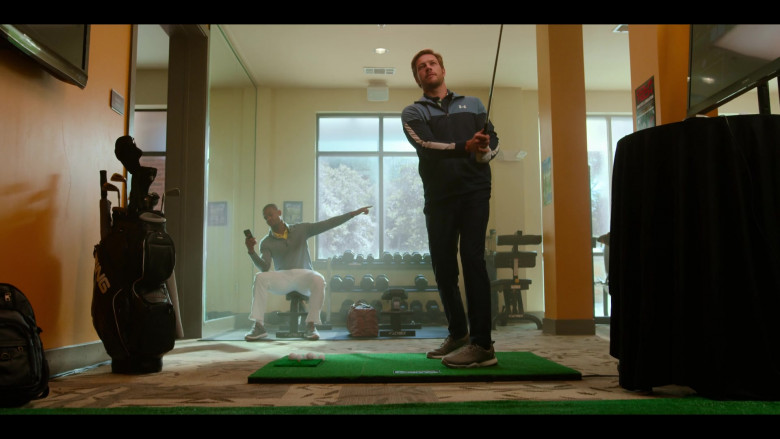 Ping Golf Equipment of Luke Bracey as Jackson in Holidate (2020)