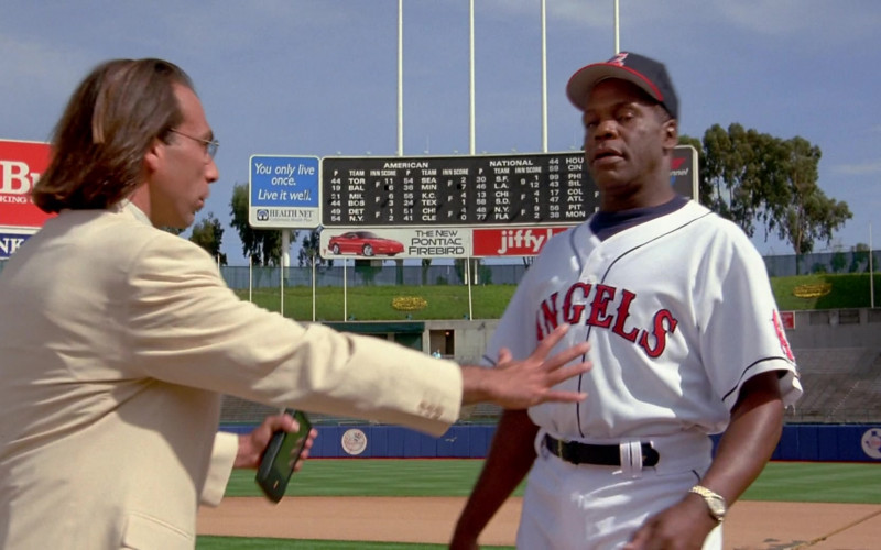 Pontiac Firebird Sign in Angels in the Outfield (1994)